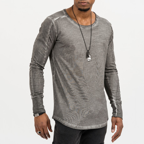Romeo Long-Sleeve Tee // Anthracite