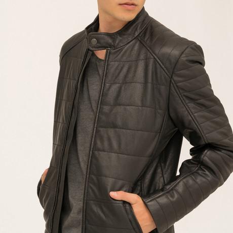 Theo Moto Jacket // Black