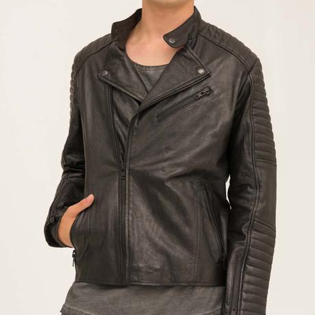 Liam Moto Jacket // Black