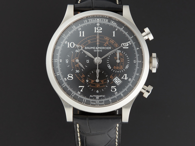Touch Of Modern - Baume et Mercier Up to 70% Off Traditional Family Watchmaking Baume et Mercier Capeland Chronograph Automatic // M0A10168 Photo