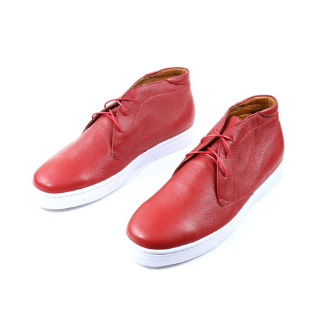 Pasion Chukka Sneakers // Red (US: 7)