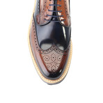 Acston Dress Shoes // Tobacco + Navy (Euro: 39)