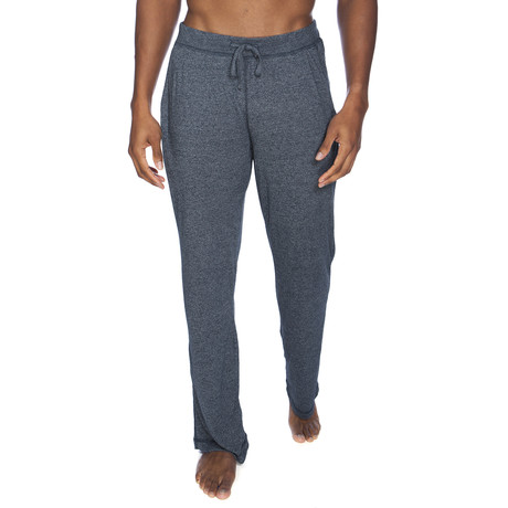 Super Soft Lounge Pant // Blue Melange (S)
