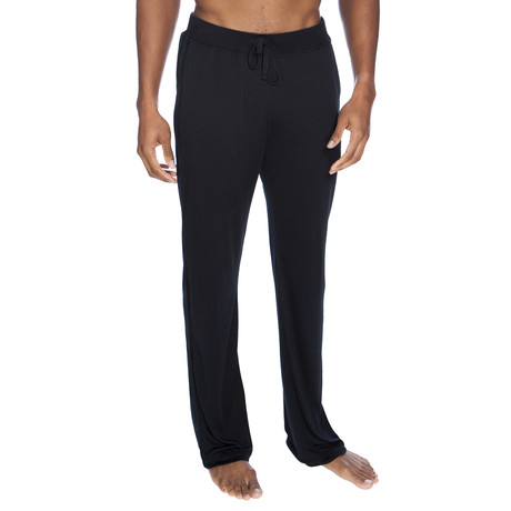 Super Soft Lounge Pant // Black (S)