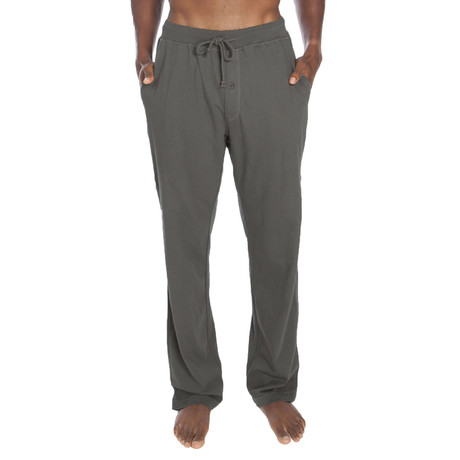 Light Weight Cotton Jersey Lounge Pant // Grey