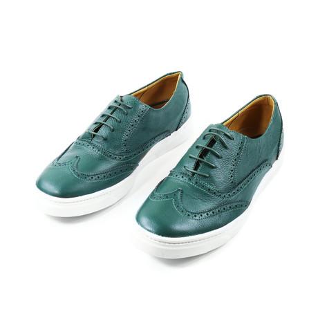 Bosque Wingtip Sneakers // Green