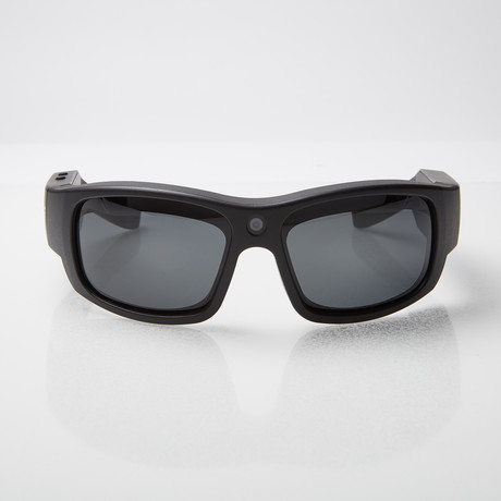 Pro 1 HD // Video Camera SunGlasses (Black)