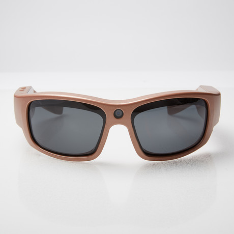 Pro 1 HD // Video Camera SunGlasses (Rose Gold)