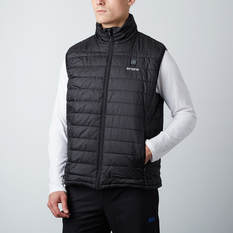 Heated Vest // Black (Medium)