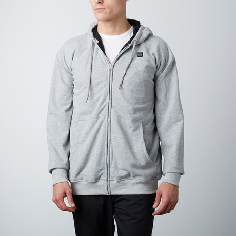Heated Hoodie // Gray (X-Small)