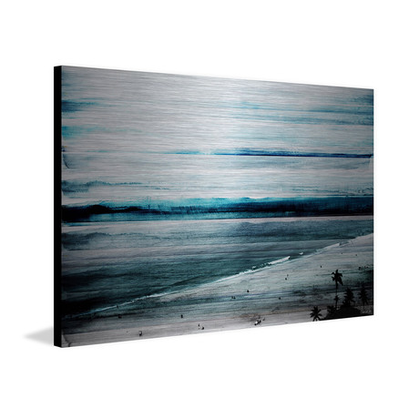 Blue Sunset // Wrapped Canvas