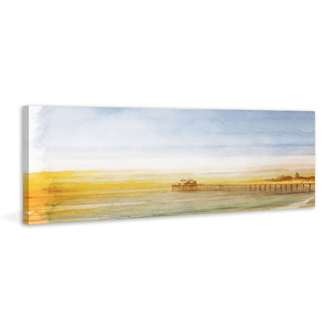 The Long Pier // Wrapped Canvas