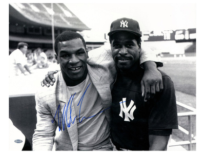 Photo of Steiner Sports Signed Boxing Memorabilia Mike Tyson Signed Framed Photo With Dave Winfield by Touch Of Modern