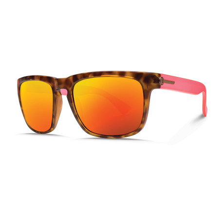 Knoxville // Matte Coral Tort + OHM Gray Fire Chrome