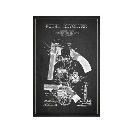 Foehl Revolver // Charcoal
