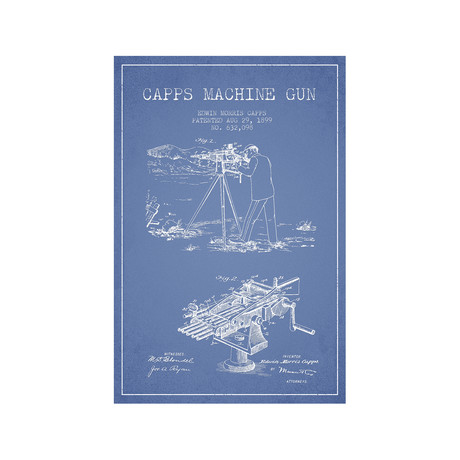 E.M. Capps Machine Gun Sketch II
