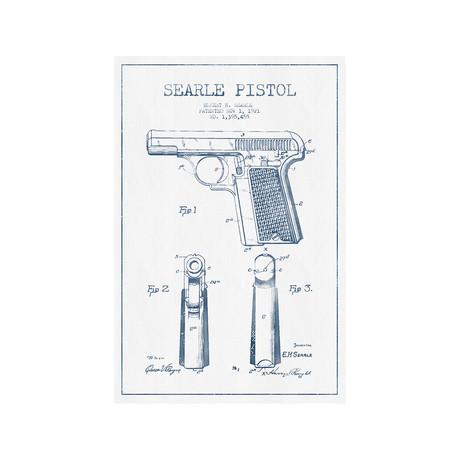 E.H. Searle Searle Pistol Sketch