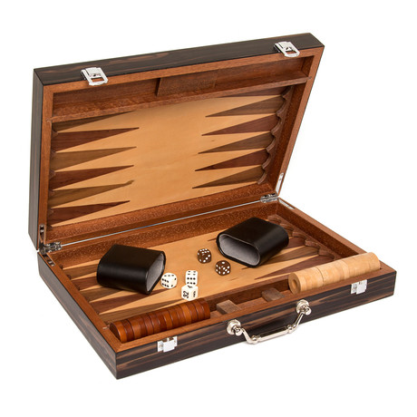 Backgammon Set (Chocolate Brown)