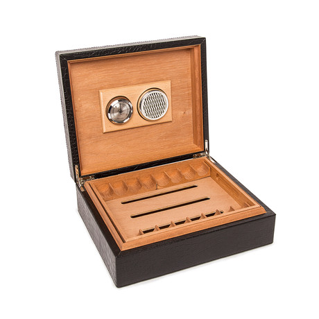 Leather Travel Cigar Humidor