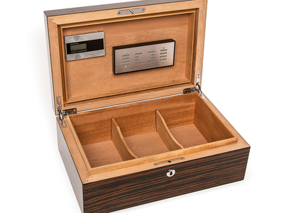 photo of High Gloss Ebony Cigar Humidor by Touch Of Modern
