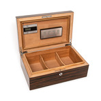 High Gloss Ebony Cigar Humidor