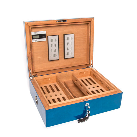 Large Cigar Humidor Box