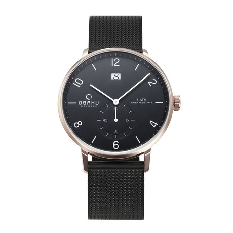 Obaku Rislen Night Quartz // V190GDVBMB