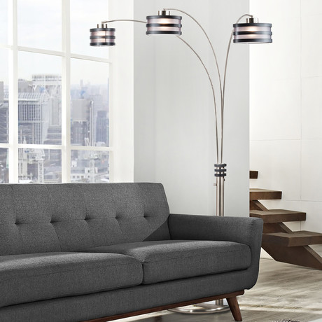 Kobe Three Light // Arc Lamp