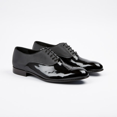 Patent Toe Oxford // Black (US: 7)