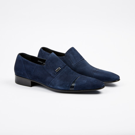 Suede Loafer // Navy (US: 7)