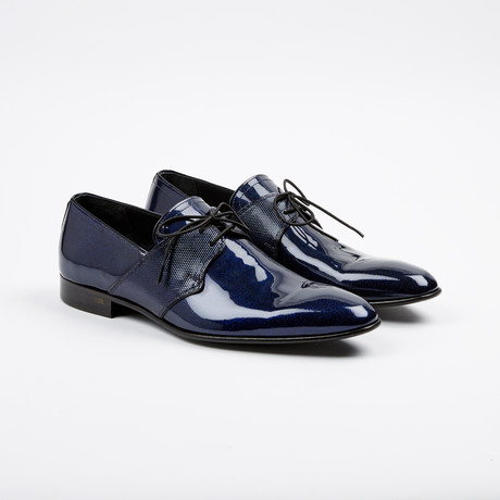 Polished Derby // Blue (US: 7)