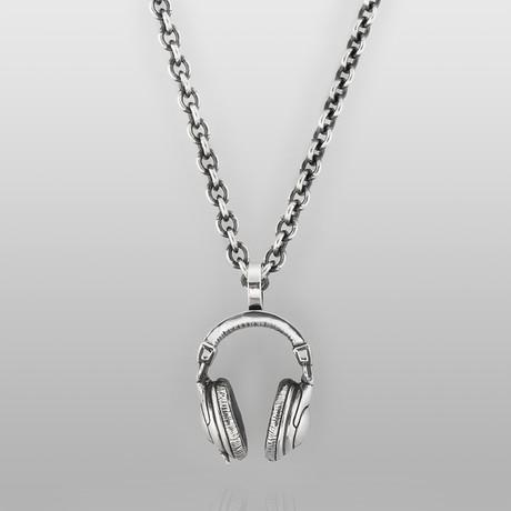 Headphones // Sterling Silver
