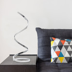 Modern // Spiral LED Table Lamp