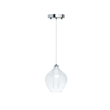 Dual Tone LED Glass Chandelier // Large