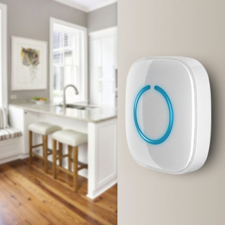 Portable Wireless Door Bell Chime Pack // White