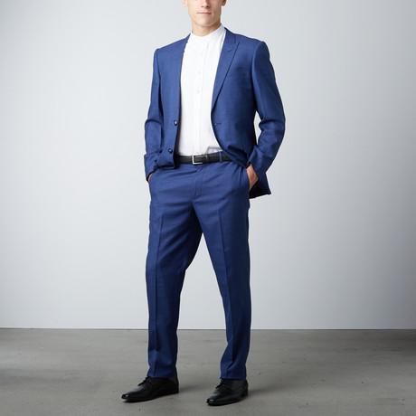 Bella Vita // Slim Fit Suit // Elegant Blue (US: 36L)