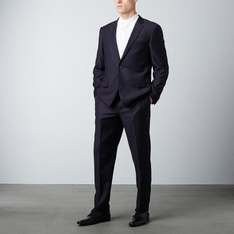 Slim Fit Suit // Shimmer Black (US: 40R)