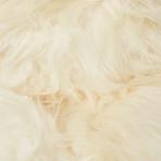 Double White Icelandic Sheepskin