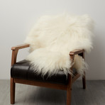 White Icelandic Sheepskin