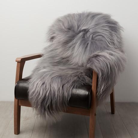 Silver Icelandic Sheepskin