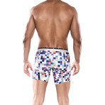 Hipster Boxer Brief // Pixels (2XL)