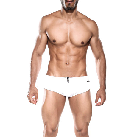 Oceanico Swim Bikini // White