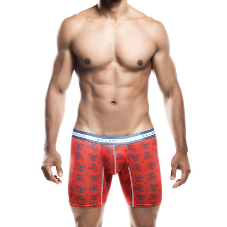 SoCal Bulldog Boxer Brief // Red