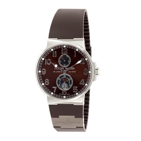 Ulysse Nardin Maxi Marine Chronometer Automatic // 263-66-3/625 // Unworn
