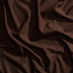 Moisture Wicking 1500 TC Soft Sheet Set // Chocolate (Full)