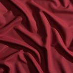 Moisture Wicking 1500 TC Soft Sheet Set // Deep Crimson Red (Full)