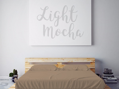 Photo of PeachSkinSheets High-Performance Smart Sheets Moisture Wicking 1500 Thread Count Soft Sheet Set // Light Mocha (Full) by Touch Of Modern