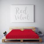 Moisture Wicking 1500 TC Soft Sheet Set // Red Velvet (Full)
