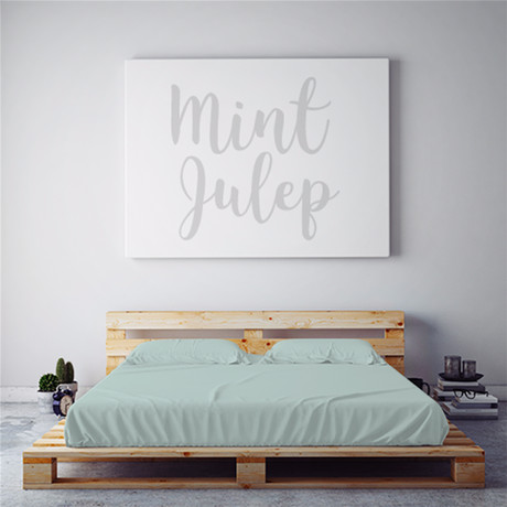 Moisture Wicking 1500 Thread Count Sheet Set // Mint Julep