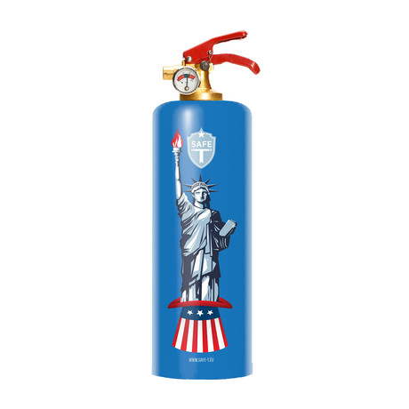 Safe-T Designer Fire Extinguisher // Liberty
